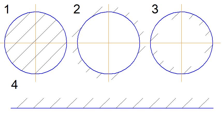 Штриховка в компасе